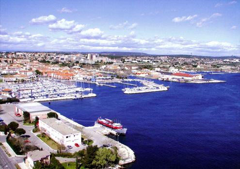 Situation géographique - Port de Bouc Plaisance